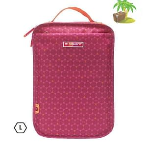 Главное фото чехол для обуви розовый в ромбик размер L для мужской и габаритной спортивной обуви. Товары для отдыха. Интернет-магазин В Отпуск