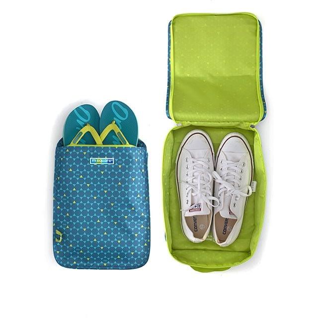 Фото использование чехла для обуви в ромбик. Товары для отдыха. Интернет-магазин В Отпуск
