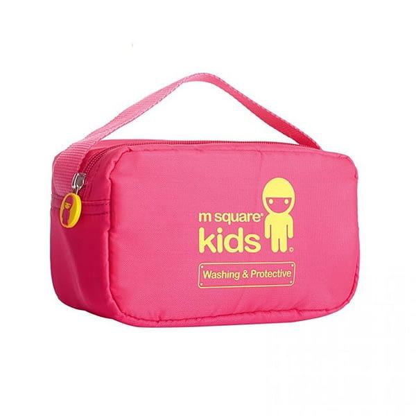MS-001K Фото сумочка для косметических средств из розового детского набора сумок из 4х элементов. Товары для отдыха интернет-магазин В Отпуск