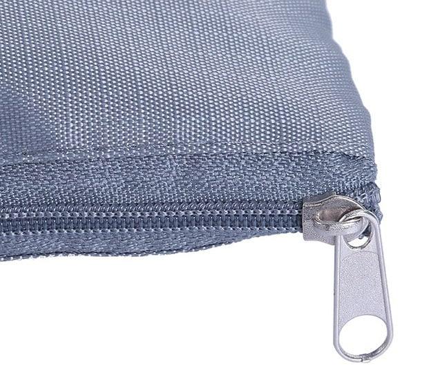 DS-10S Фото замочек на молнии синего набора сумочек в чемодан. Товары для отдыха. Интернет-магазин В Отпуск