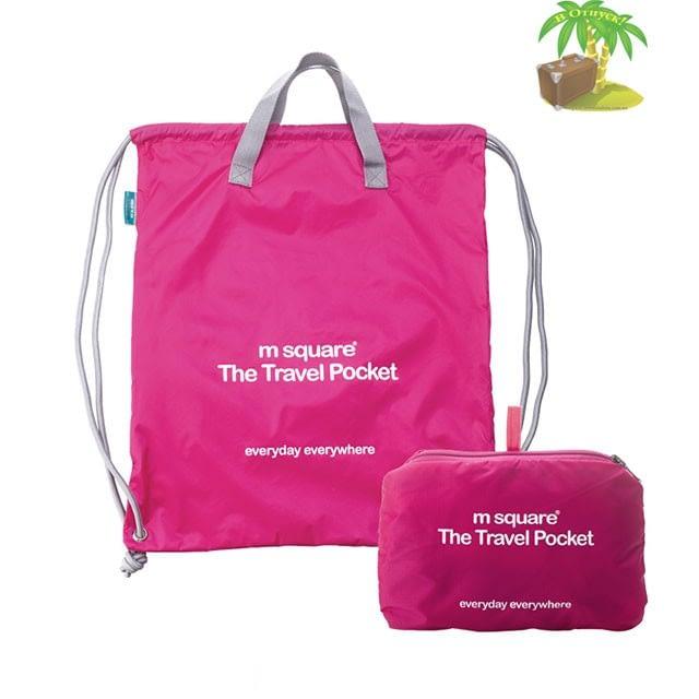 Фото сумка - рюкзак из большого розового подарочного набора