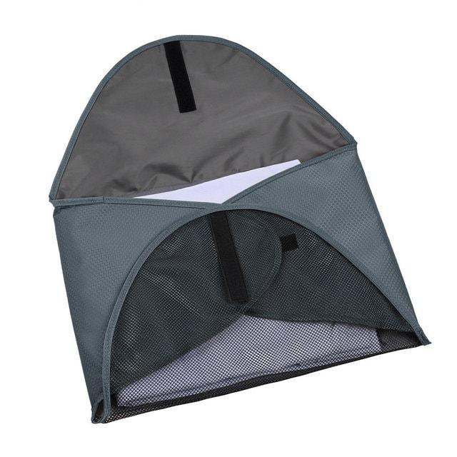 PO-04 Серый органайзер для рубашек, юбок и брюк. Фото в открытом виде. Товары для отдыха. Интернет-магазин В Отпуск