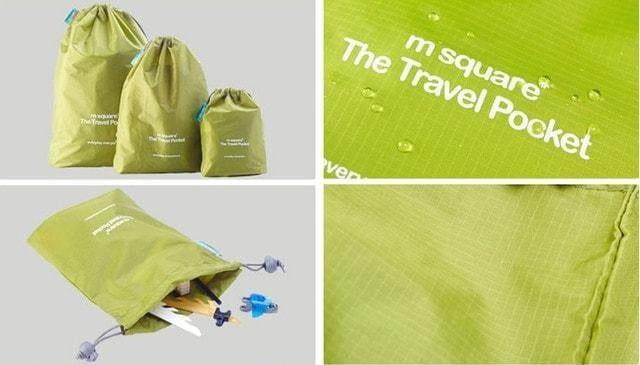 Набор водонепроницаемых мешочков для белья фото детали качества 1. Товары для отдыха. Интернет-магазин В Отпуск