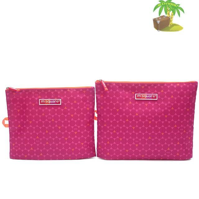 Главное фото мешочки для белья и одежды на молнии в розовый ромбик. Товары для отдыха. Интернет-магазин В Отпуск