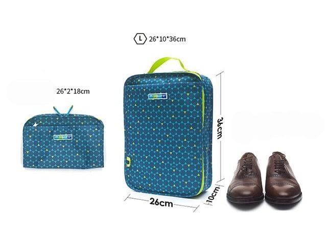 Фото все размеры чехла для обуви в ромбик размер L для мужской и спортивной обуви. Товары для отдыха. Интернет-магазин В Отпуск