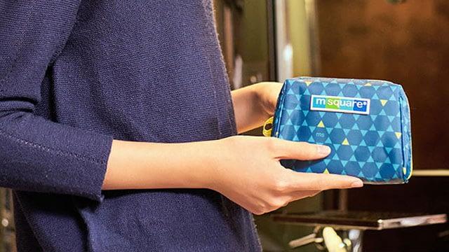 Фото моя интимная косметичка синий ромб. Товары для отдыха. Интернет-магазин В Отпуск