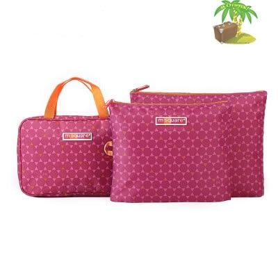 Главное фото подарок для свекрови розовый. Набор косметичка и мешочки на молнии.