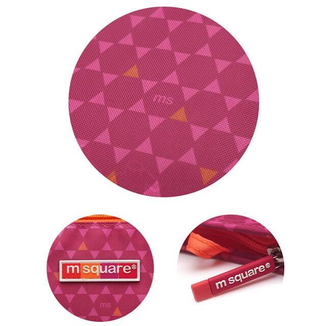Фото детали качества мешочков для белья и одежды на молнии розовый ромбик. Товары для отдыха. Интернет-магазин В Отпуск