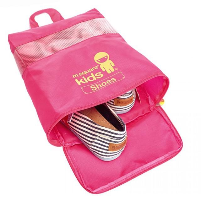 MS-001K Фото сумочка для обуви из розового детского набора сумок из 4х элементов. Товары для отдыха интернет-магазин В Отпуск