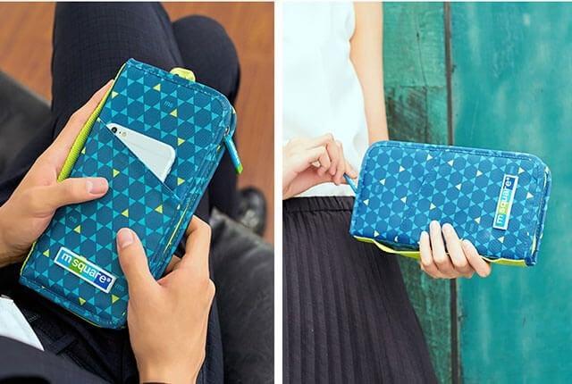 Фото синий в ромб паспортный органайзер для мужчин и женщин. Товары для отдыха. Интернет-магазин В Отпуск