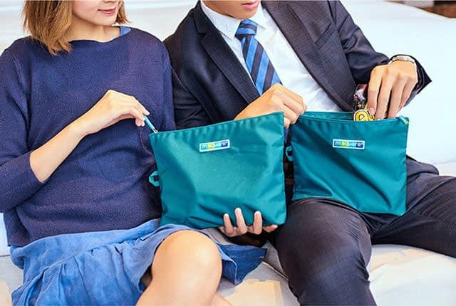 Фото бирюзовые мешочки для белья - универсальные тревел-подарки для мужчин и женщин. Товары для отдыха. Интернет-магазин В Отпуск