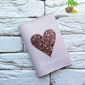Главное фото паспортная обложка Sweet Heart. Коллекция обложек для загранпаспорта Сердечки!