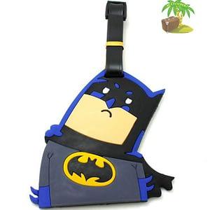"""ВВ-31 Бирка для багажа Бэтмен фото анфас товары для путешественников интернет-магазин """"В Отпуск"""" от SeredinaLeta"""