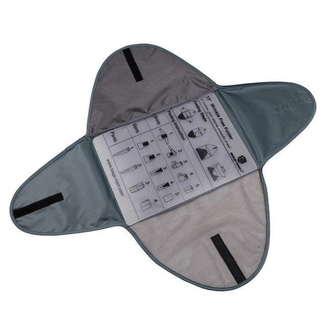 PO-04 Серый органайзер для рубашек, юбок и брюк. Фото в развороте. Товары для отдыха. Интернет-магазин В Отпуск