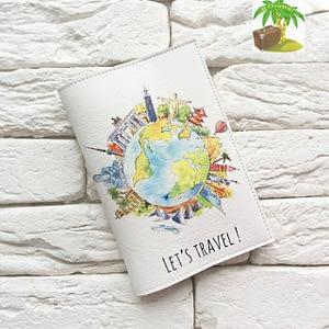 Главное фото паспортная обложка Вокруг света. Коллекция обложек Путешествуй!