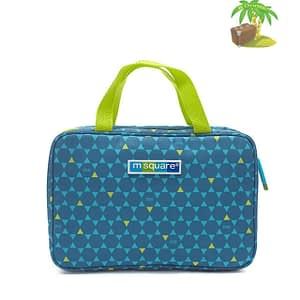 Главное фото косметичка синий ромбик с вешалкой. Товары для отдыха. Интернет-магазин В Отпуск