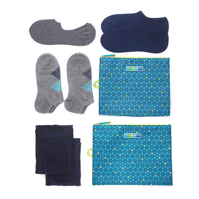 Фото назначение мешочков для белья и одежды на молнии в синий ромб. Товары для отдыха. Интернет-магазин В Отпуск