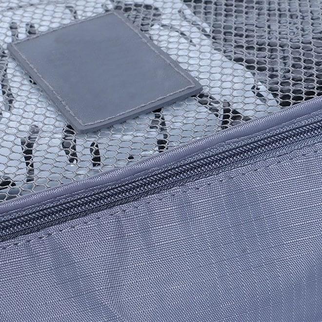 DS-10S Фото синий набор сумочек в чемодан. Кубик с сеткой. Товары для отдыха. Интернет-магазин В Отпуск