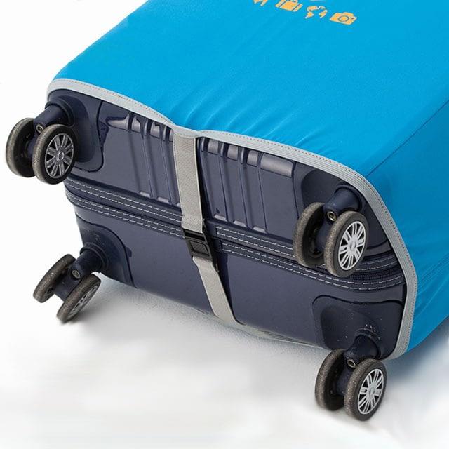 Фото нижний ремешок чехлов для чемоданов Travel Partner. Товары для отдыха. Интернет-магазин В Отпуск