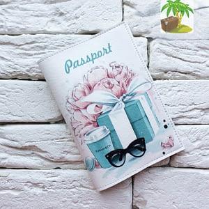 Главное фото паспортная обложка Подарок от Тиффани. Коллекция обложек для загранпаспорта Цветы