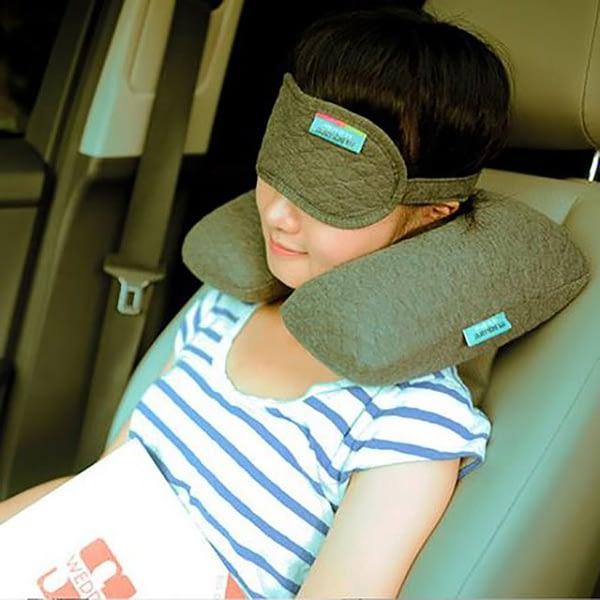 MS-061-Надувная подушка серая фото в использовании 2