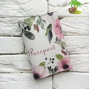 Главное фото паспортная обложка Цветочная Франция. Коллекция обложек для загранпаспорта Цветы