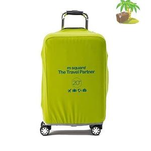 Главное фото салатово-лимонный эластичный чехол размер S для небольшого чемодана высотой 54-56см. Товары для отдыха. Интернет-магазин В Отпуск