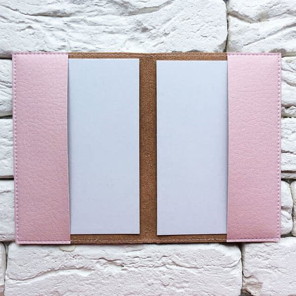 Фото внутри паспортная обложка Самолет лети розовая. Коллекция обложек Путешествуй!
