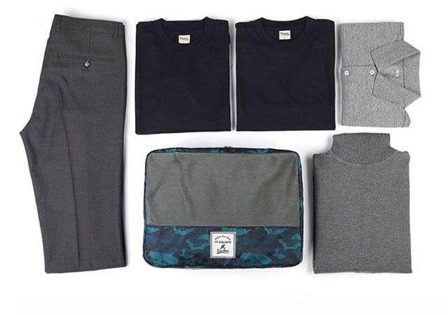 Фото блока для одежды в наборе дорожных сумочек. Товары для отдыха. Интернет-магазин В Отпуск