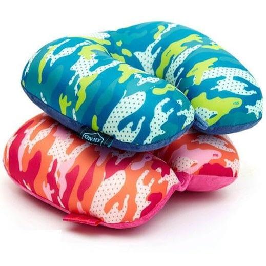 Фото варианты цветов дорожной подушки милитари. Товары для отдыха. Интернет-магазин В Отпуск!