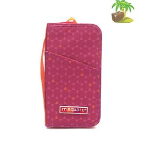 Главное фото паспортный органайзер в ромбик красный. Товары для отдыха. Интернет-магазин В Отпуск