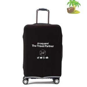 Главное фото черный эластичный чехол размер М для среднего чемодана высотой 64-66см. Товары для отдыха. Интернет-магазин В Отпуск