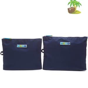 Главное фото синие мешочки для белья и одежды на молнии. Товары для отдыха. Интернет-магазин В Отпуск