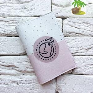 Главное фото паспортная обложка Вокруг земли розовая. Коллекция обложек Путешествуй!