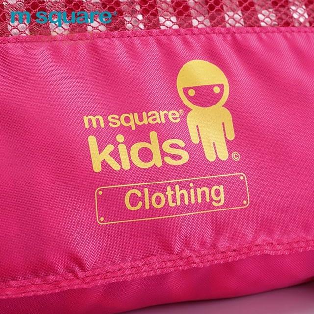 MS-001K Фото 2 материал розового детского набора сумок из 4х элементов. Товары для отдыха интернет-магазин В Отпуск