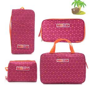 Главное фото набор подарок сестре розовый. 2 органайзера и две косметички в подарок. Интернет-магазин В Отпуск