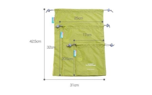 Набор водонепроницаемых мешочков для белья фото размеров 2. Товары для отдыха. Интернет-магазин В Отпуск