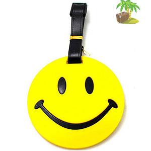 """ВВ-06-Бирка для багажа Смайл фото анфас товары для путешественников интернет-магазин """"В Отпуск"""" от SeredinaLeta"""