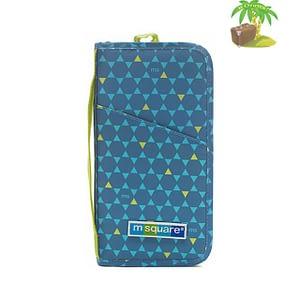 Главное фото паспортный органайзер в ромбик синий. Товары для отдыха. Интернет-магазин В Отпуск