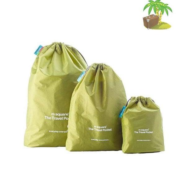 MS-013 Набор зеленых водонепроницаемых мешочков для белья главное фото. Товары для отдыха. Интернет-магазин В Отпуск