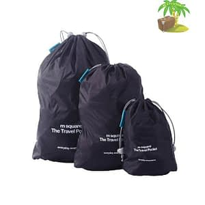 MS-014 Набор черных водонепроницаемых мешочков для белья главное фото. Товары для отдыха. Интернет-магазин В Отпуск