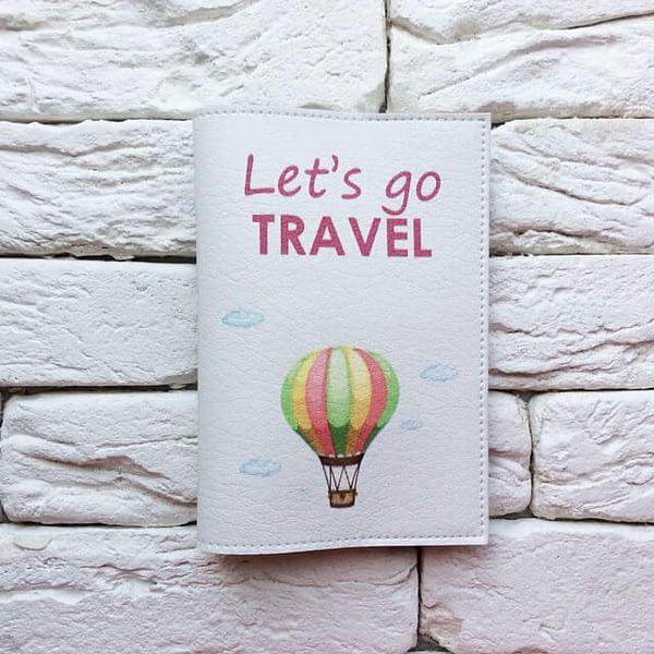 Фото анфас паспортная обложка Воздушный Шар. Коллекция обложек Путешествуй!