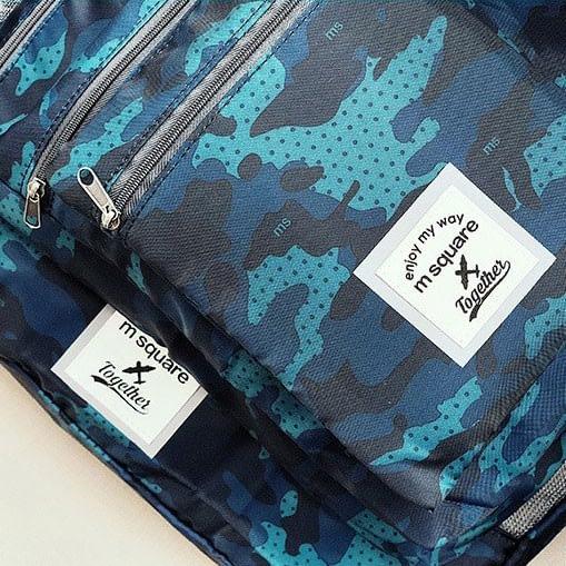 Фото 2 детали материала набора дорожных сумочек. Товары для отдыха. Интернет-магазин В Отпуск