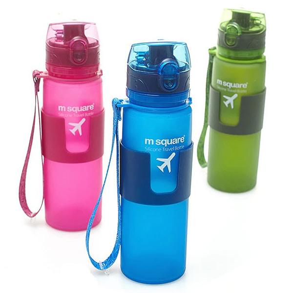 Фото цвета силиконовых бутылочек большего размера L емкостью 500мл. Товары для отдыха. Интернет-магазин В Отпуск