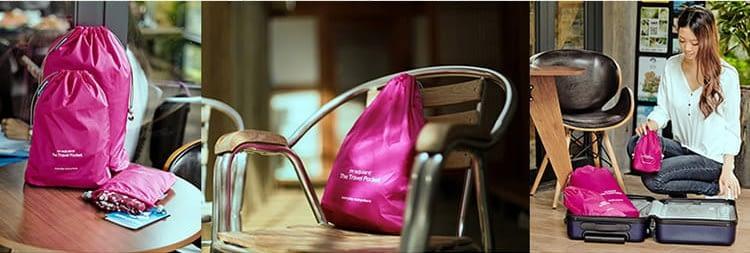MS-015 Розовый набор мешочков для белья фото галерея товара