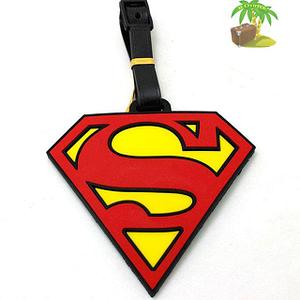 """ВВ-13 Бирка для багажа Знак Супермена фото анфас товары для путешественников интернет-магазин """"В Отпуск"""" от SeredinaLeta"""