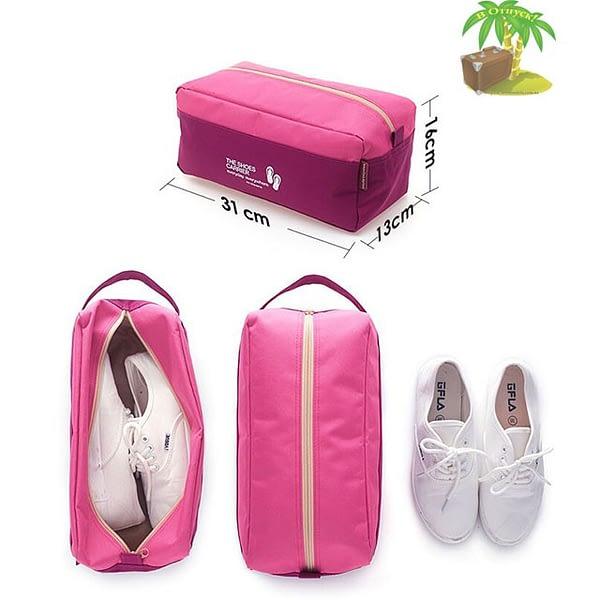 Фото размеры розового тканевого чехла для обуви. Товары для отдыха. Интернет-магазин В Отпуск