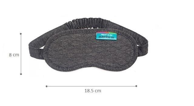 Фото размеры маски для сна. Тревел-сет серый. Товары для отдыха. Интернет-магазин В Отпуск