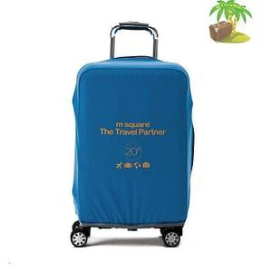 Главное фото голубой эластичный чехол размер S для небольшого чемодана высотой 54-56см. Товары для отдыха. Интернет-магазин В Отпуск