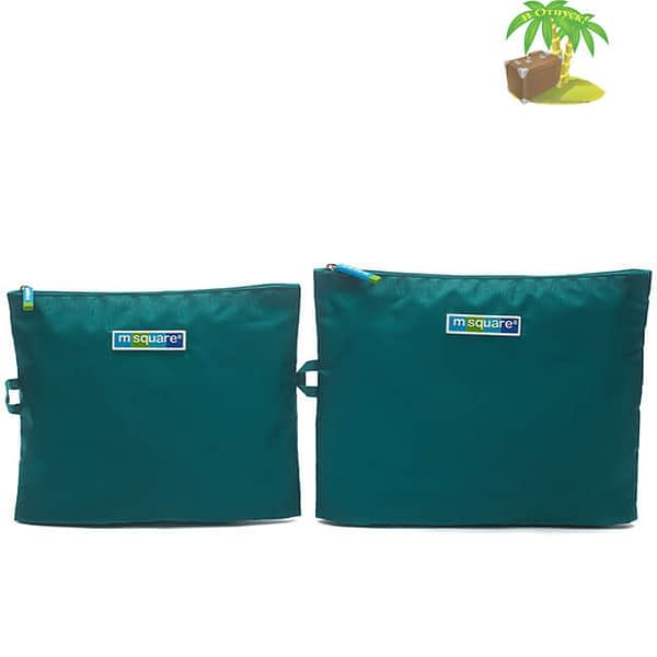 Главное фото мешочки для белья и мелочей на молнии бирюзовые. Товары для отдыха. Интернет-магазин В Отпуск
